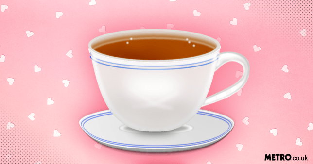 Illustration of a cup of tea