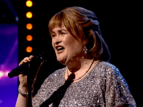 Susan Boyle makes emotional return to Britain's Got Talent and there's not a dry eye in the house