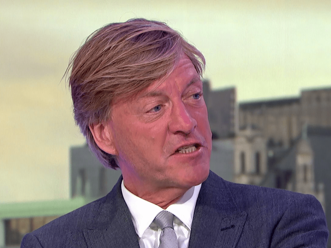Richard Madeley declares himself 'Big Dicky' and makes X-rated joke in music chat