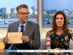 Richard Bacon 'handed his P45' live on-air as he replaces Piers Morgan on GMB