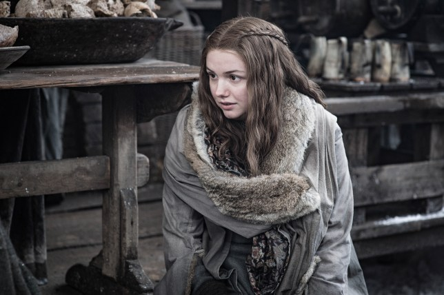 Hannah Murray stars as Gilly in Game of Thrones season 8