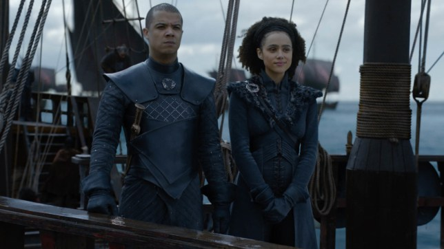 Grey Worm and Missandei Game of Thrones (Picture: HBO)