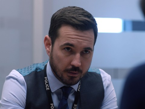 Line Of Duty's Martin Compston 'panics' about covering up Scottish accent