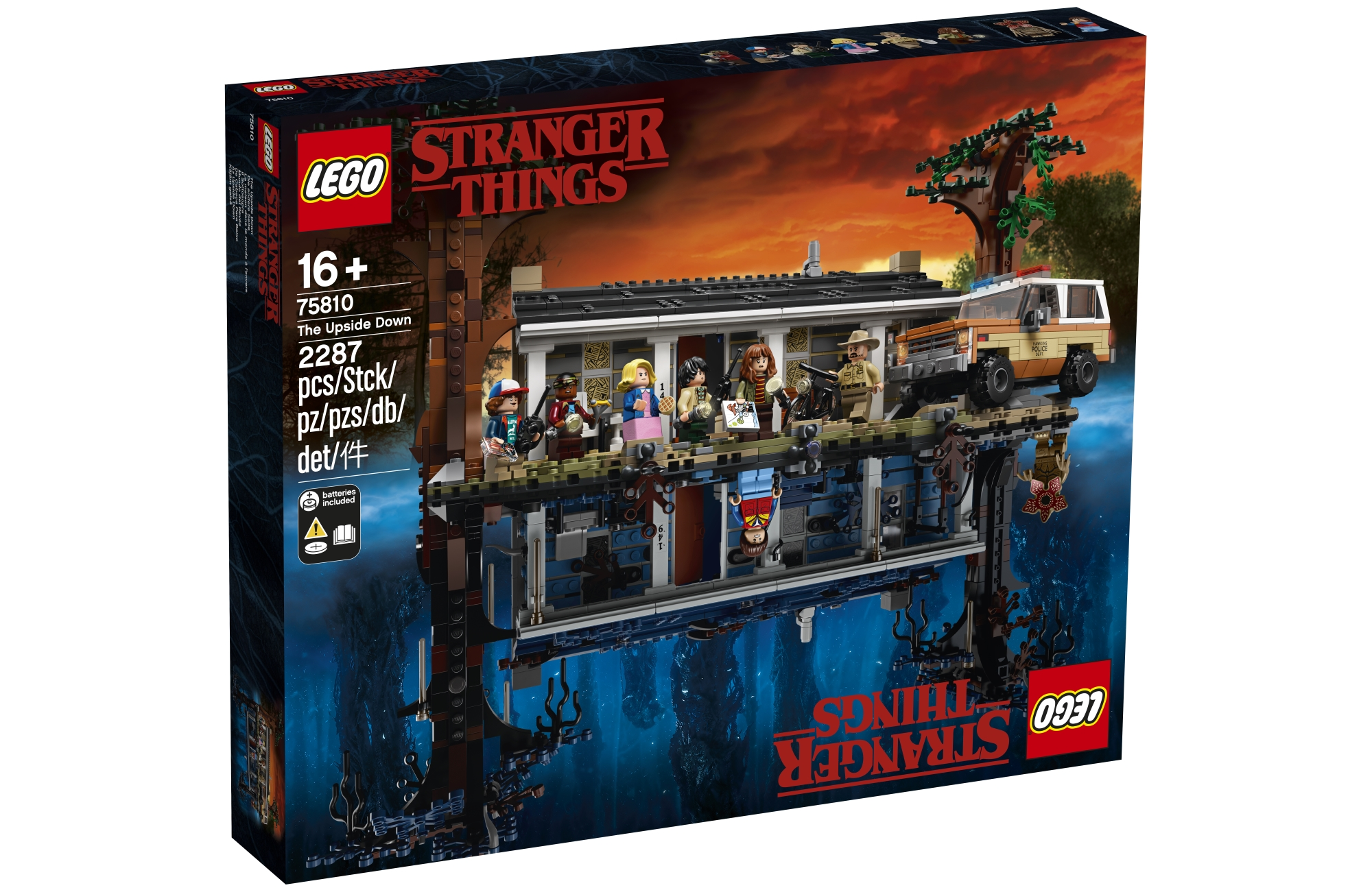 Stranger Things turns Lego up to eleven