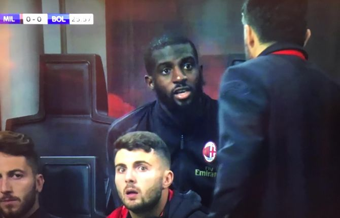 Tiemoue Bakayoko tells Gennaro Gattuso to 'f*** off' during AC Milan's win over Bologna