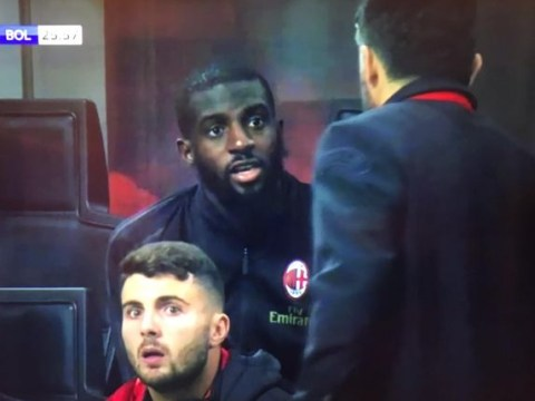 Tiemoue Bakayoko tells Gennaro Gattuso to 'f*** off' during AC Milan's win over Bologna