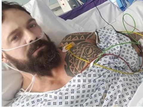 Body builder's organs twisted inside his body because of high-protein diet