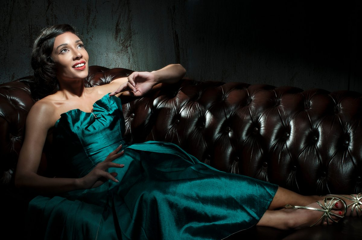 Camilla playing Lena Horne