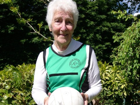 This 80-year-old grandma is the UK's 'oldest netballer' and has no plans to stop playing