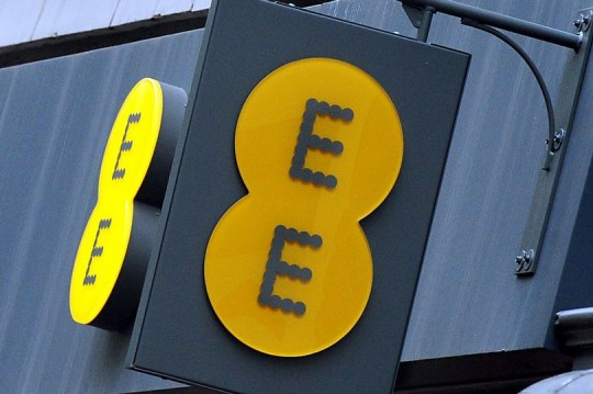 EE is suffering an outage in the UK today (PA)
