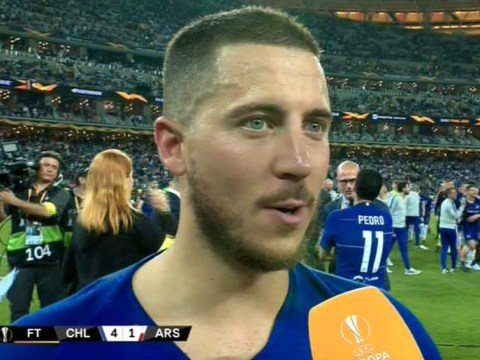 Eden Hazard says 'goodbye' to Chelsea and says he is 'waiting' on Real Madrid transfer