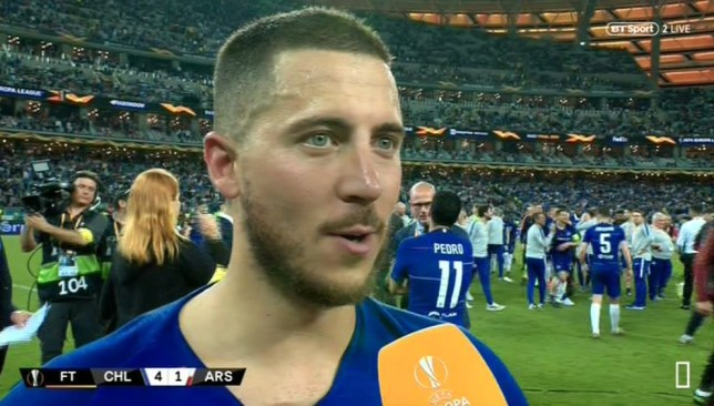 Chelsea forward Eden Hazard is 'waiting' on his move to Real Madrid