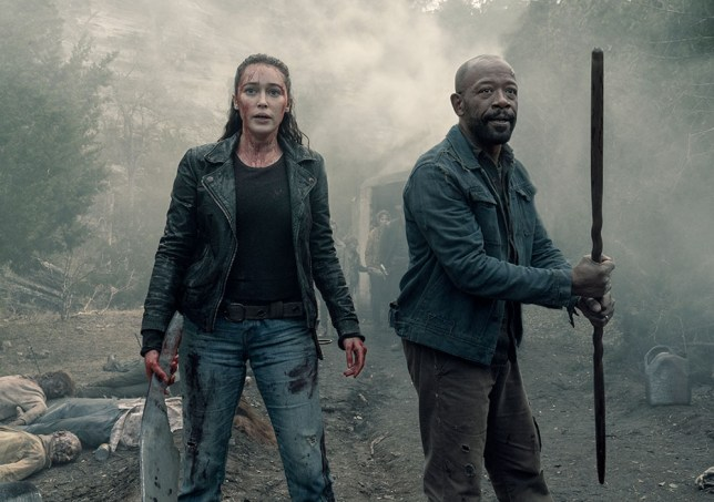 A still from season 5 of Fear The Walking Dead