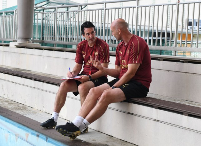 Arsenal boss Unai Emery ready to axe Steve Bould