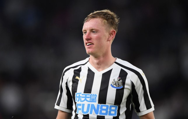 Newcastle United midfielder Sean Longstaff could be heading to Manchester United this summer