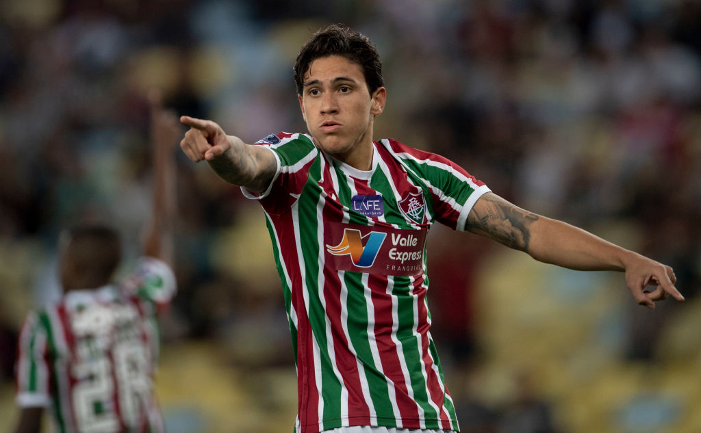 Manchester United make first move to sign Fluminense striker Pedro