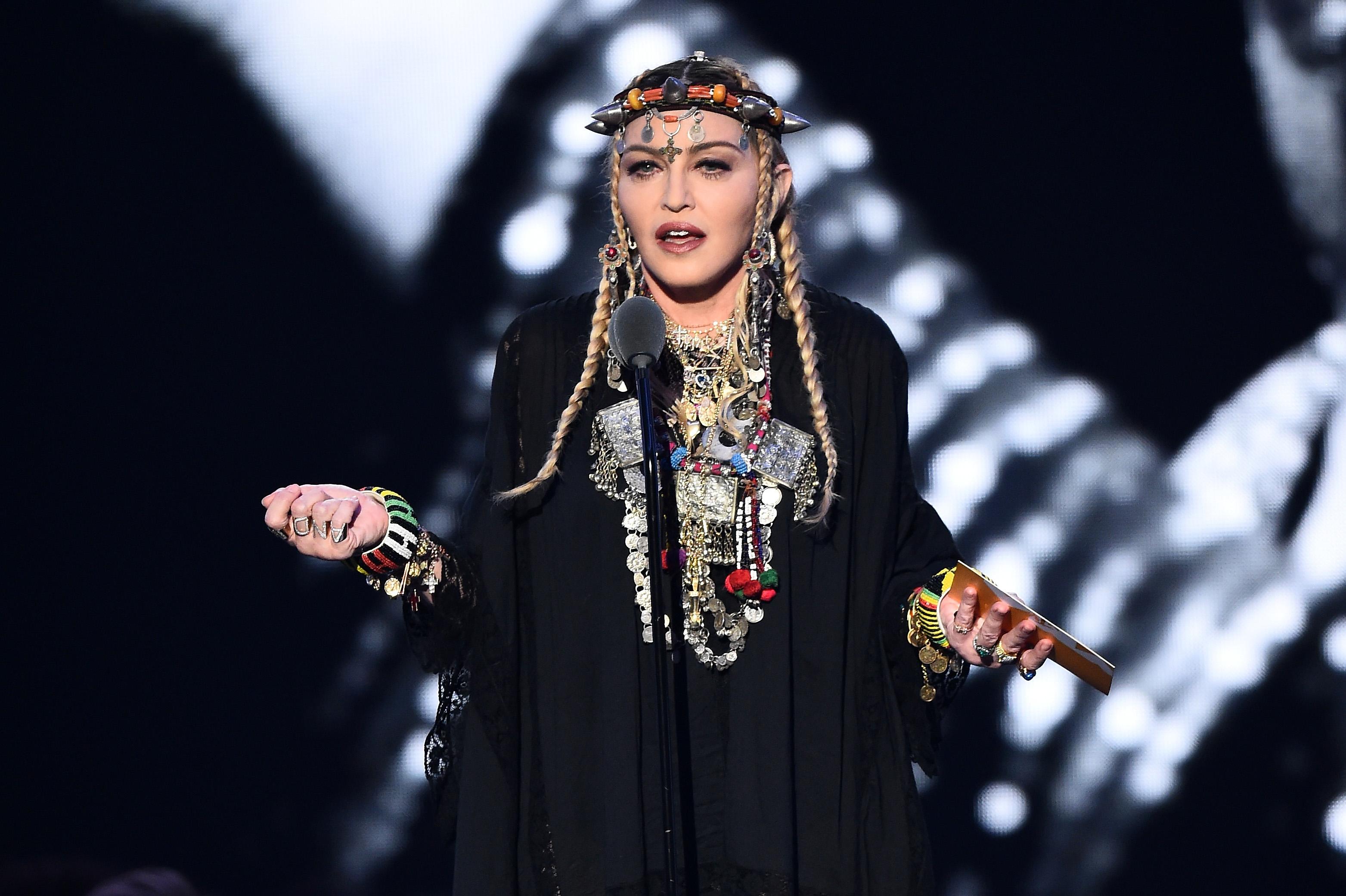 Madonna addresses Israel boycott controversy at Eurovision