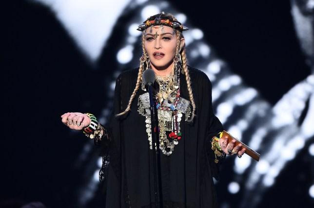 Madonna at MTV VMAs