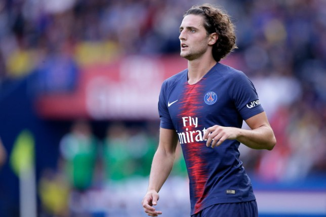 finest selection 1378d 09ab2 Spurs to battle Juventus for PSG contract rebel Adrien ...
