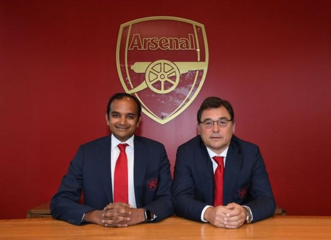Vinai Venkatesham and Raul Sanllehi reveal Arsenal transfer plan