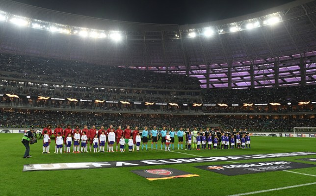 Arsenal will return to Baku for their upcoming Europa League final against Chelsea
