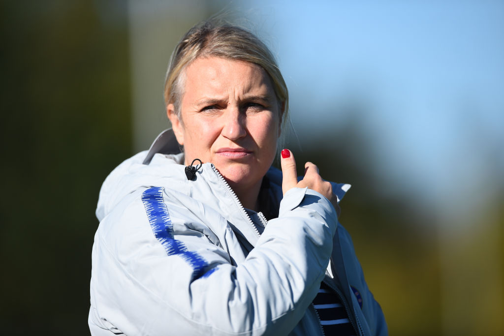 Chelsea Women manager Emma Hayes urges goals to be made smaller for women's game