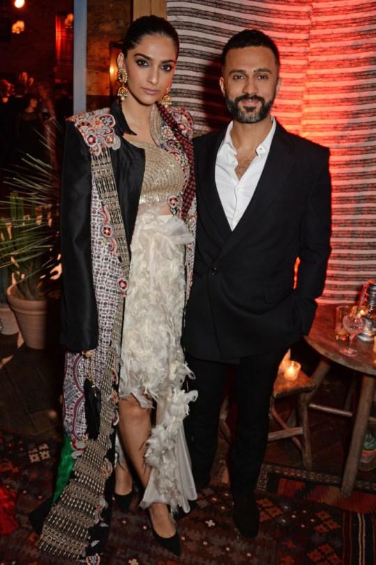 Sonam Kapoor and husband Anand Ahuja