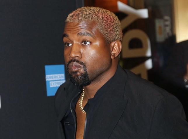 Kanye West at red carpet event
