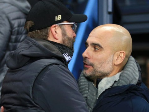 Man City boss Pep Guardiola hails Liverpool as one of the best two teams he has faced as a manager