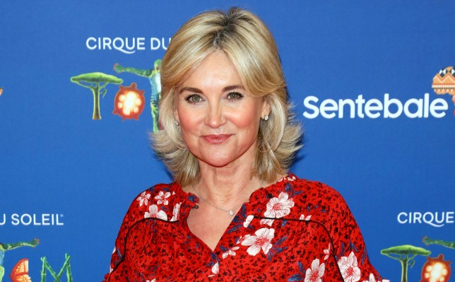 Anthea Turner 'wanted to die' but claims fame saved her