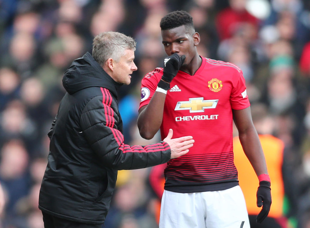 Ole Gunnar Soskjaer set to offer Paul Pogba the captaincy at Manchester United