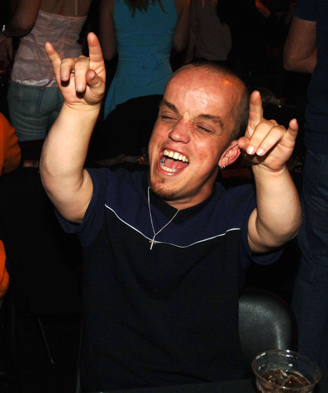 Wee Man partying in Vegas