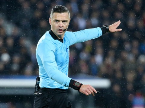 Who is the referee for the Liverpool vs Tottenham Champions League final 2019 and what are his stats?
