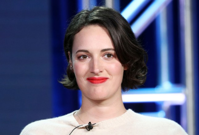 Phoebe Waller-Bridge smiling at Amazon Prime Video event