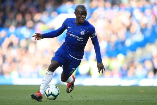Kante signed a new deal with Chelsea in 2018