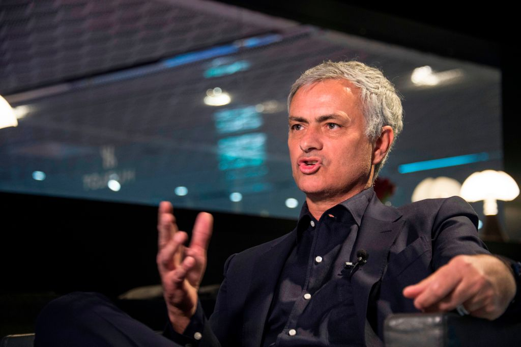 Jose Mourinho takes pop at Manchester United and reveals when he will return to management