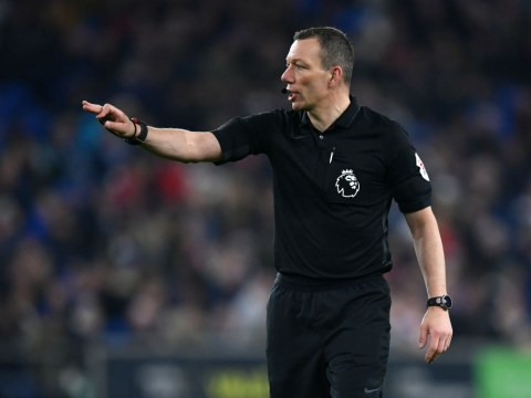 Who is the referee for the FA Cup final 2019 and what are his stats?
