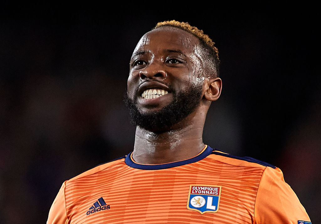 Manchester United submit £35m offer to sign Lyon striker Moussa Dembele