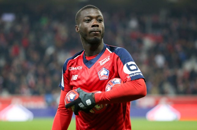 Arsenal have made a move to sign Nicolas Pepe from Lille