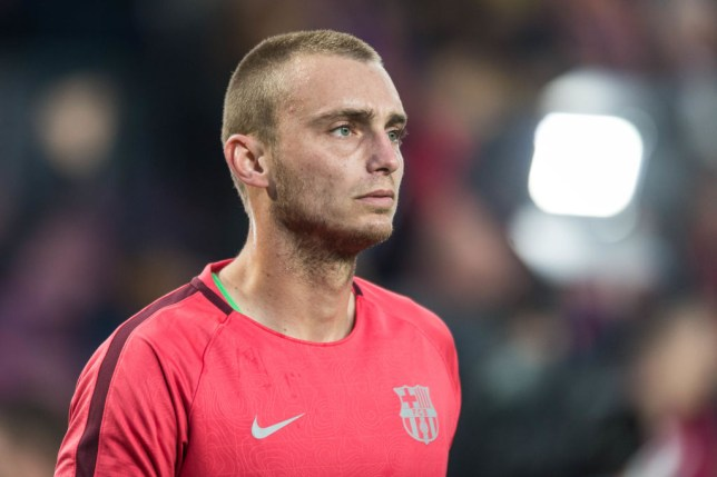 5545523bd Man United identify Barcelona s Jasper Cillessen as a leading candidate to  replace David De Gea