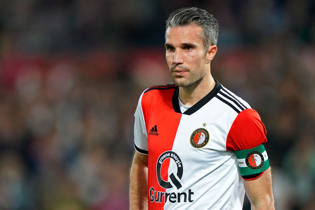 Arsenal or Chelsea? Robin van Persie makes Europa League final prediction