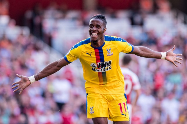 Unai Emery wants Arsenal to sign Wilfried Zaha from Crystal Palace