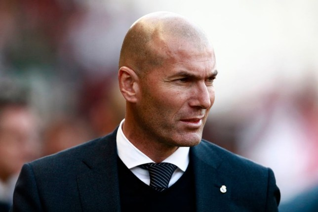 Zinedine Zidane has left Real Madrid's pre-season training camp for 'personal reasons'