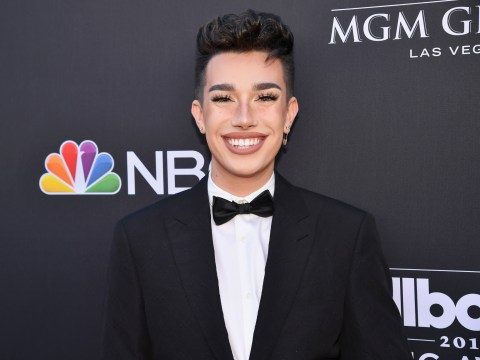 James Charles 'trying his best to smile' after tour prices backlash and Tati Westbrook drama
