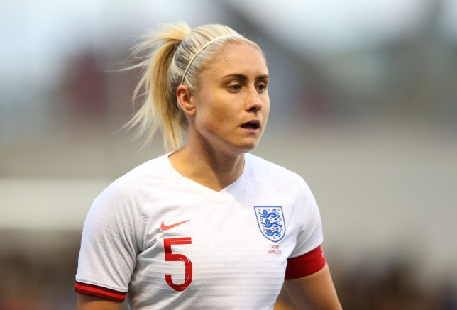 Steph Houghton will captain England at this summer's World Cup