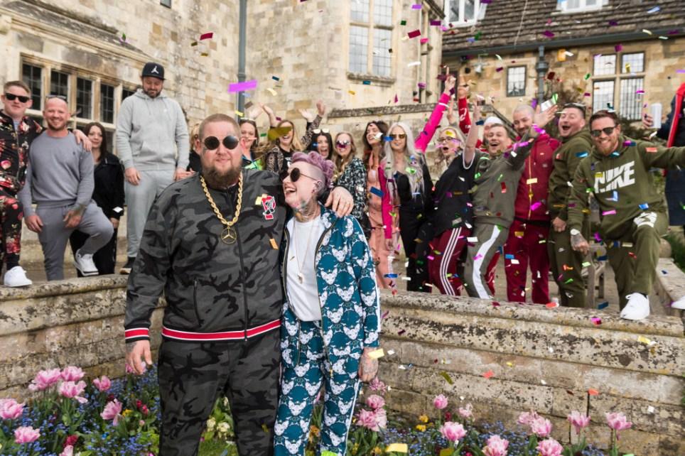 Rag'n'Bone man gets married