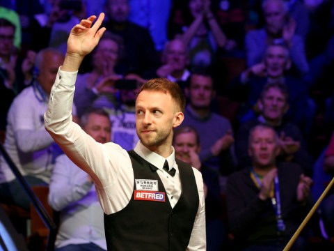 Watch Judd Trump play shot behind his back in immense Snooker World Championship final performance