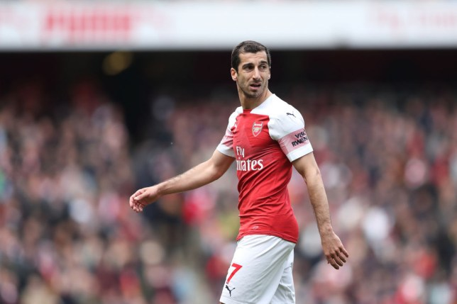 best loved 24a19 9e008 Arsenal confirm Henrikh Mkhitaryan won't play in Europa ...