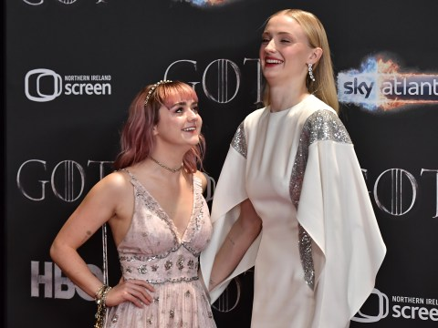 Game of Thrones stars Maisie Williams and Sophie Turner are 'two peas in a pod'