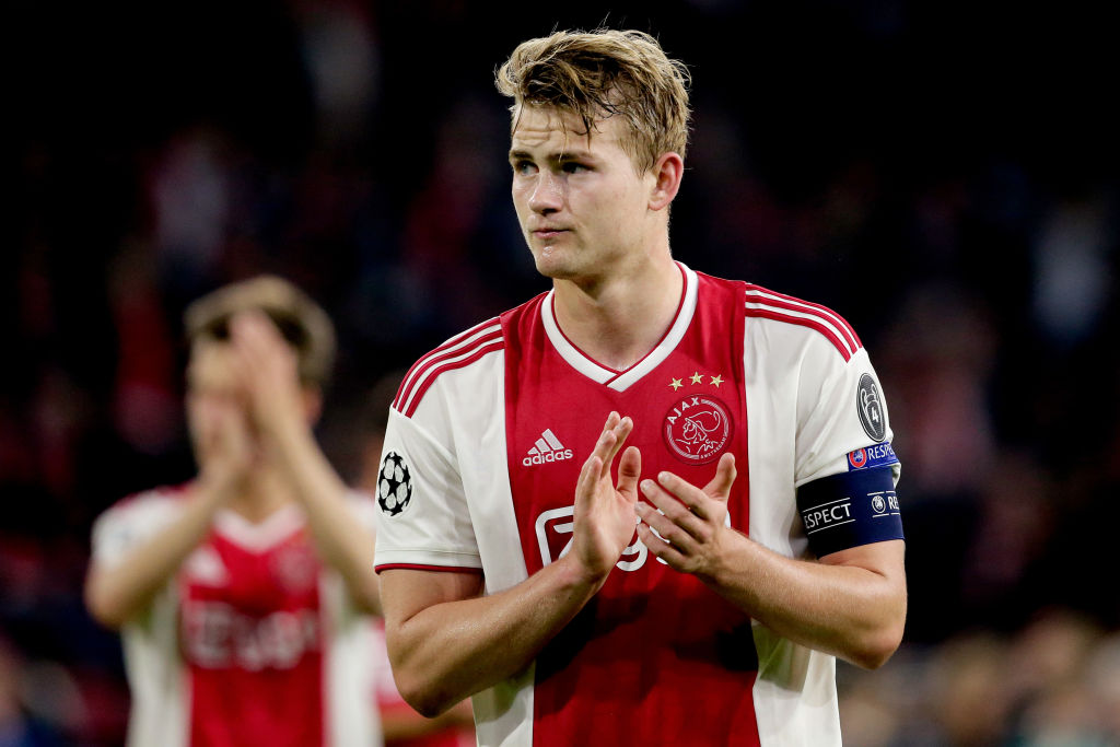 Manchester United passed up Matthijs de Ligt transfer due to concerns over Ajax defender's weight